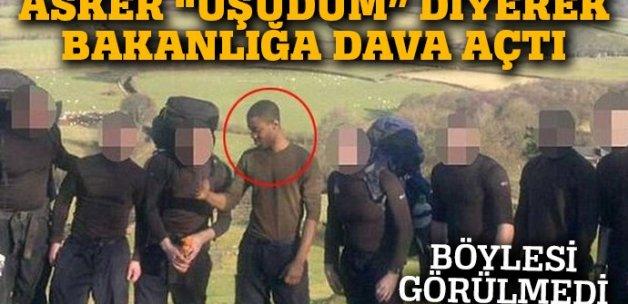 Tatbikat sırasında üşüdüğü için Savunma Bakanlığı'na dava açtı
