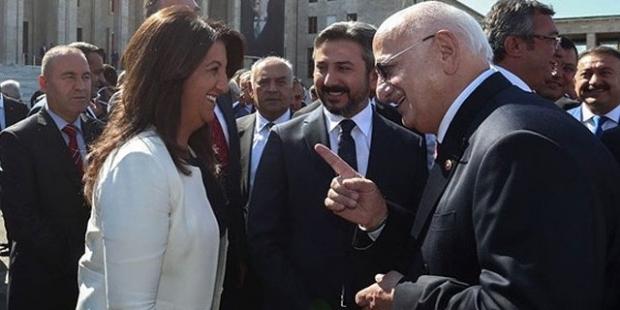 TBMM Başkanı ile HDP'li Pervin Buldan arasında 'Hac' diyaloğu