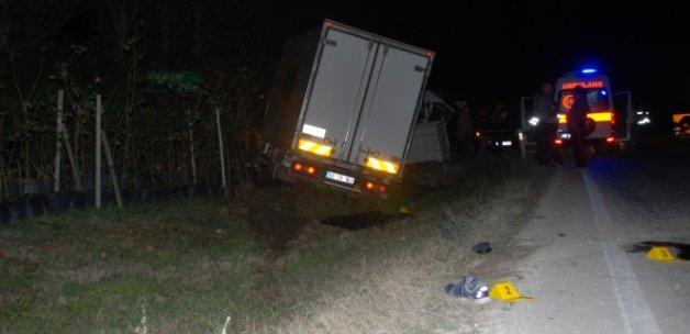 Tekirdağ'da feci kaza: 2 Ölü