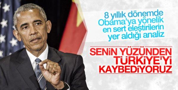 The American Interest dergisinden Obama'ya Türkiye tepkisi