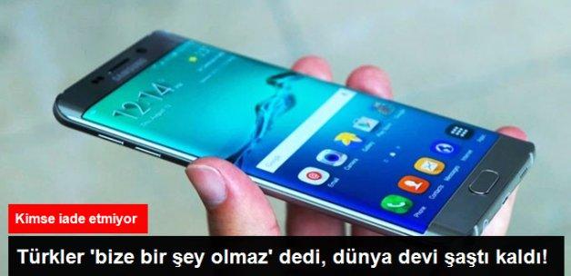 Türkiye'de Arızalı Samsung Note 7'ler Geri İade Edilmedi