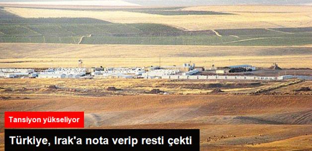 Türkiye Irak'a Nota Verip Resti Çekti
