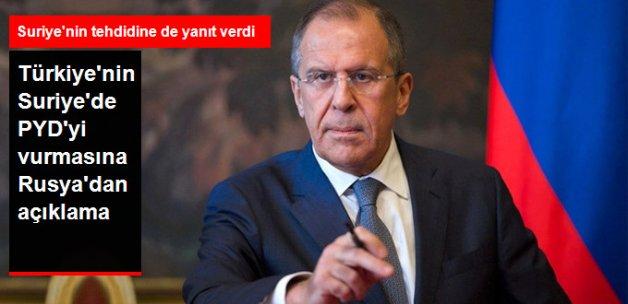 Türkiye'nin Suriye'deki PYD Hedeflerini Vurmasına Rusya'dan Açıklama: Endişe Verici