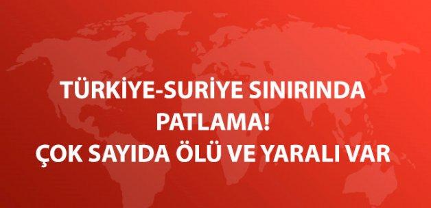 Türkiye-Suriye Sınırında Patlama! 20'den Fazla Kişi Öldü