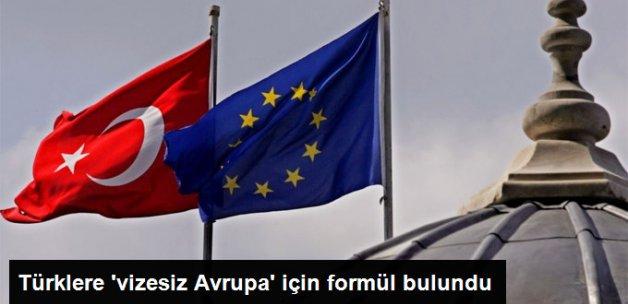 Türklere Vizesiz Avrupa İçin Formül Bulundu