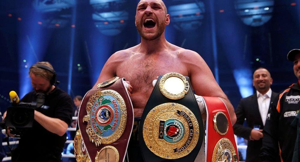 Uyuşturucu kullandığını itiraf eden dünya şampiyonu boksör Fury'nin lisansı askıya alındı