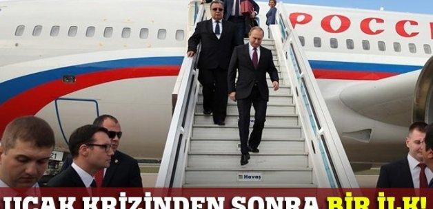 Vladimir Putin Türkiye'ye geldi