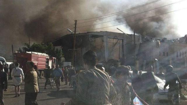 Yemen'de hava saldırısı: Yüzlerce ölü ve yaralı var