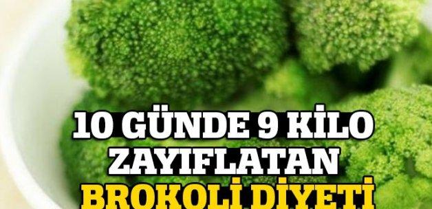 10 günlük brokoli diyetiyle 9 kilo zayıflayın!