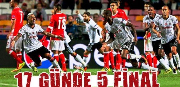17 günde 5 final