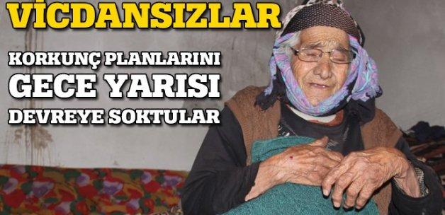 93 Yaşındaki kadını darp edip 10 bin lirasını çaldılar