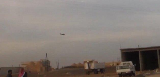 ABD helikopteri PKK ile birlikte savaşıyor!