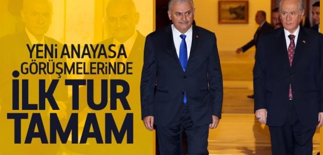 AK Parti ve MHP'nin ilk tur görüşmeleri tamamlandı