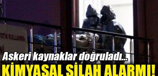 Ankara'da kimyasal silah alarmı