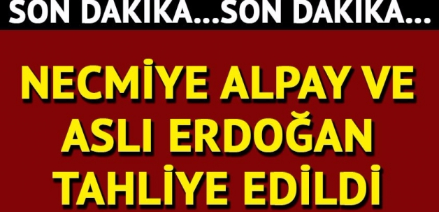Aslı Erdoğan ve Necmiye Alpay için tahliye kararı!