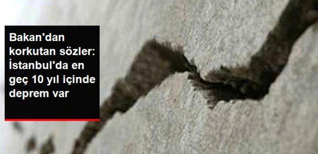 Bakan Özhaseki: Bilim Adamlarına Göre İstanbul'da En Geç 10 Yıl İçinde Deprem Var