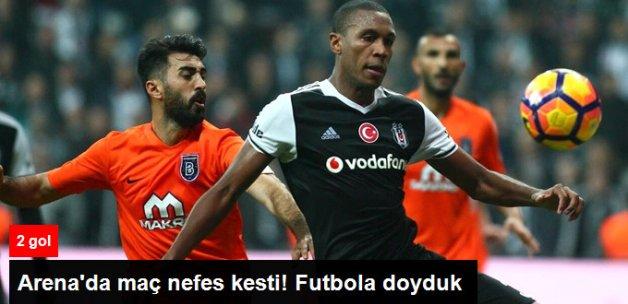 Beşiktaş, Başakşehir'le 1-1 Berabere Kaldı