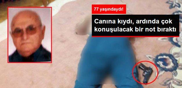 Bursa'da Yüksek Tansiyon Hastası Kalbine Ateş Ederek Canına Kıydı