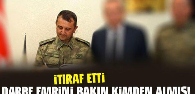 Darbe emrini Tuğgeneral Mehmet Partigöç'ten almış