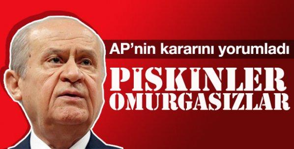 Devlet Bahçeli'den AP'nin kararına sert tepki
