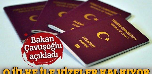 Dışişleri Bakanı Çavuşoğlu açıkladı: 'Bir ülke daha vizeleri kaldırıyor'