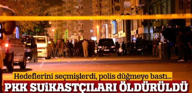 Diyarbakır'da PKK suikastçısı öldürüldü