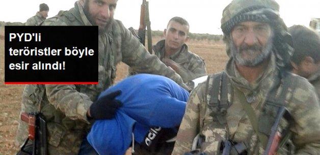 El Bab'da PYD'li Üç Terörist Esir Alındı