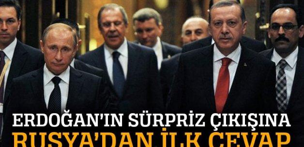 Erdoğan'ın 'Şanghay Beşlisi' çıkışına Rusya'dan ilk yorum