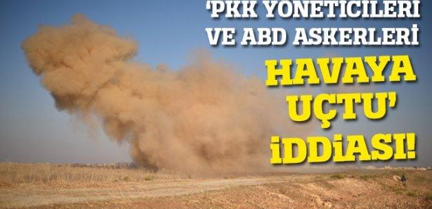 Haseke'deki patlamada 'PKK yöneticileri ve ABD askerleri öldü' iddiası