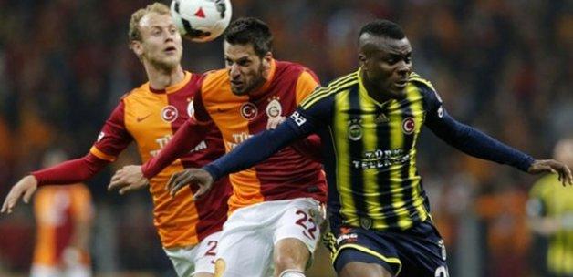 Fenerbahçe ile Galatasaray'ın muhtemel 11'leri