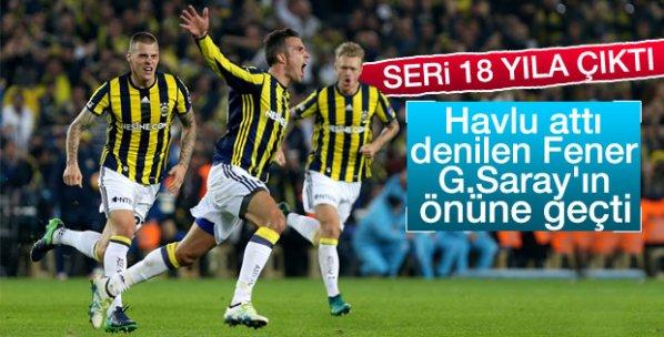Fenerbahçe Kadıköy'de yine kazandı
