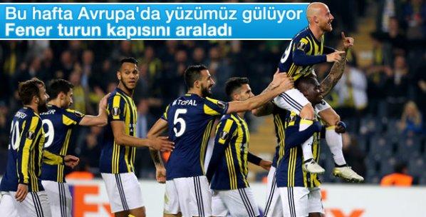 Fenerbahçe Zorya'yı yendi turu araladı