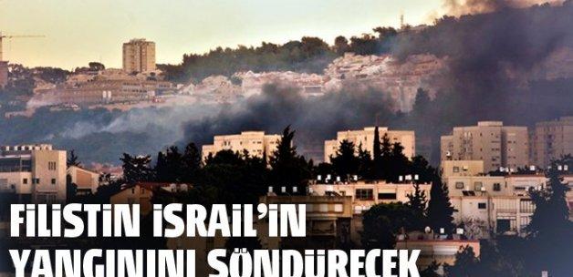 Filistin İsrail'in yangınını söndürecek