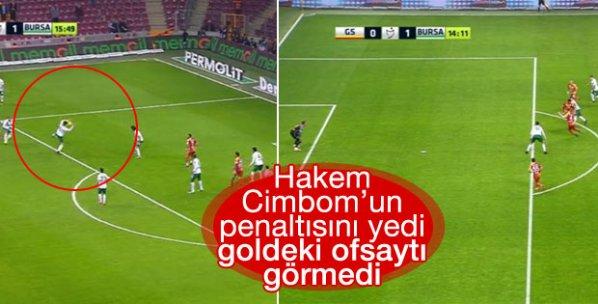 Galatasaray'ın ofsayt ve penaltı isyanı