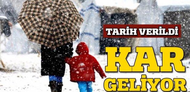 Haftaya dikkat! Beklenen kar geliyor