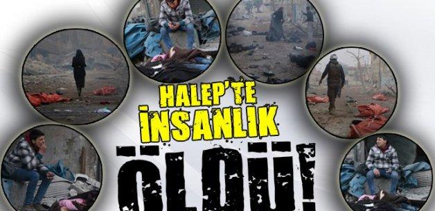 Halep'te insanlık dışı saldırılar