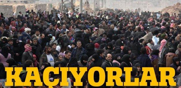 Halep'ten kaçış başladı! Sayı 50 bini aştı...