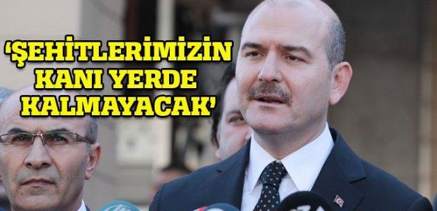 İçişleri Bakanı Soylu: 2 şehidimizin kanı yerde kalmayacak