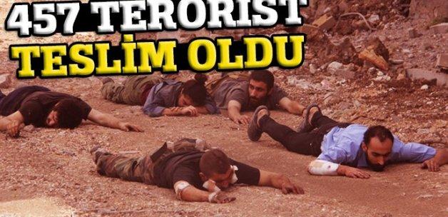 İçişleri Bakanı Soylu: 457 terörist teslim oldu