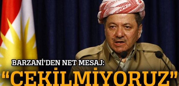 IKBY Başkanı Barzani: Peşmerge Sincar ve Kerkük'ten çekilmeyecek