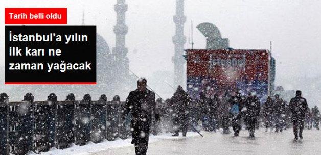 İstanbul'a Yılın İlk Karı Kasım Ayının Son Haftası Düşecek