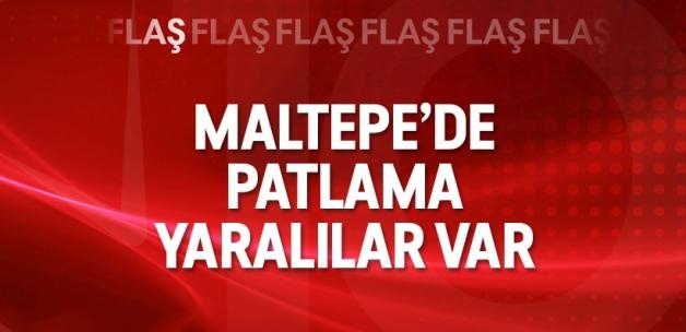 İstanbul Maltepe'de patlama!