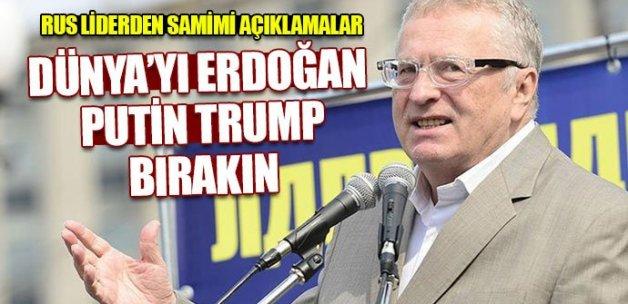 Jirinovski: 'Türkiye'yi Sanghay üyeleri arasında görmek istiyoruz'