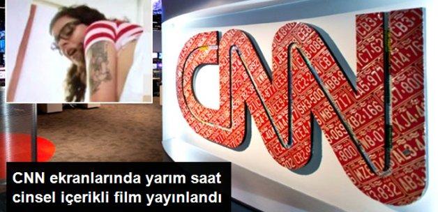 Kablolu TV'de Yaşanan Sorun Nedeniyle CNN'de Yarım Saat Cinsel İçerikli Film Yayınlandı