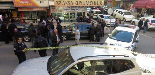 Maltepe'de pompalı tüfekle kuyumcu soygunu