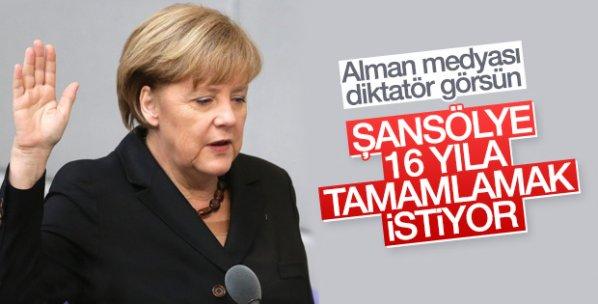 Merkel resmen aday oldu
