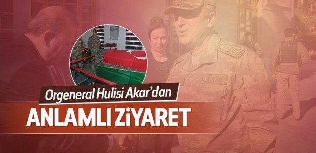 Orgeneral Akar Süleyman Şah Türbesi'ni ziyaret etti