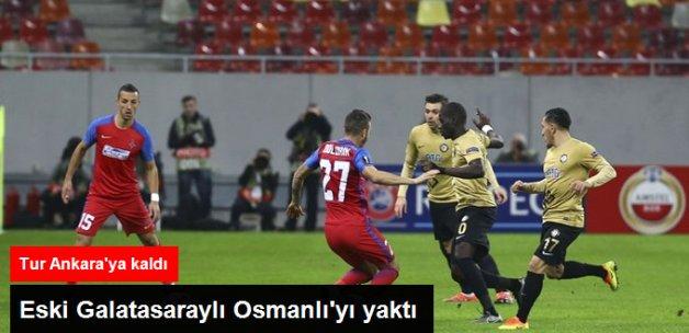 Osmanlıspor Deplasmanda Steaua Bükreş'e 2-1 Yenildi
