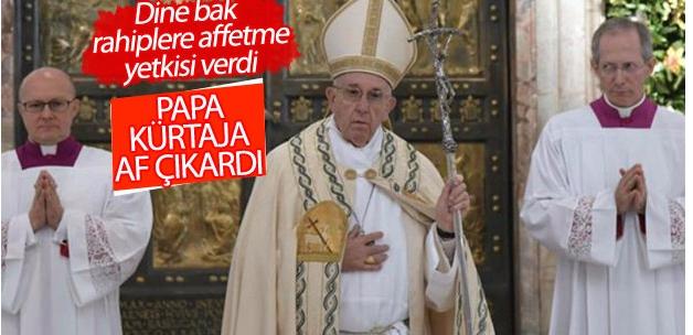 Papa'dan kürtaja süresiz af yetkisi