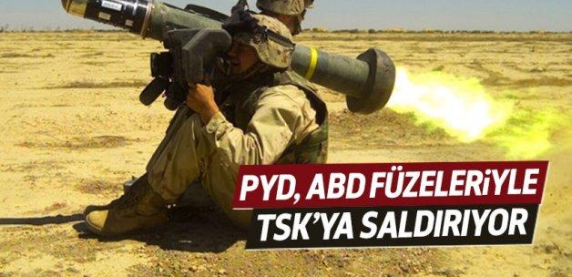 PYD, ABD füzeleriyle saldırıyor